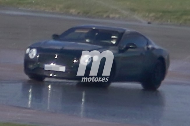 Bentley Continental GT 2018 - foto espía