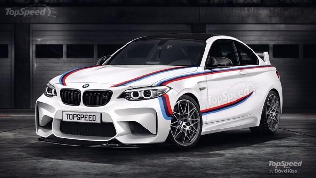 BMW M2 CSL - recreación
