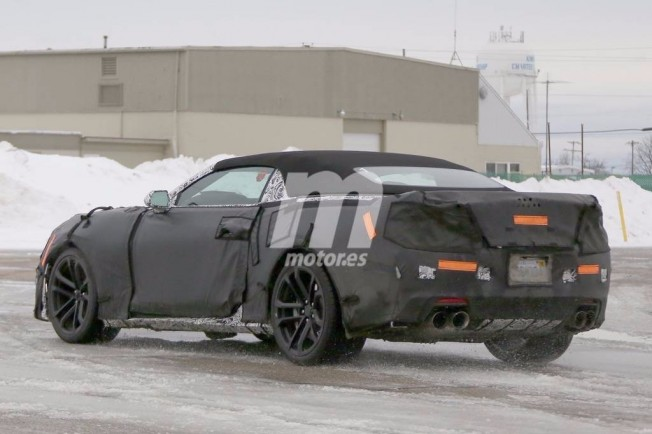 Chevrolet Camaro ZL1 Cabrio 2017 foto espía