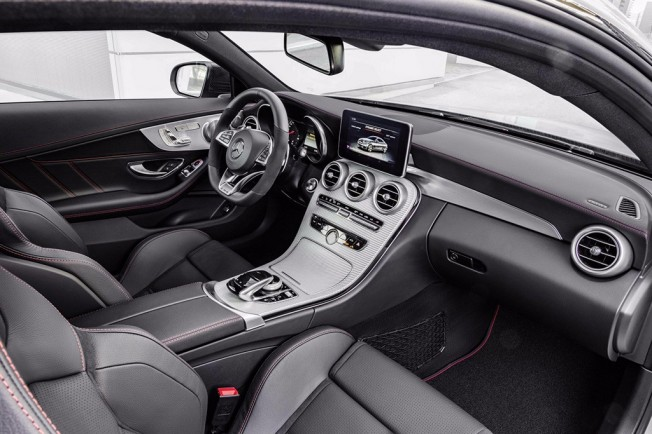 Mercedes-AMG C 43 4MATIC Coupé - interior