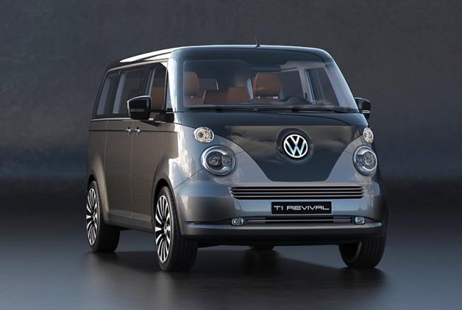 Volkswagen T1 Revival Concept, una espectacular propuesta ...