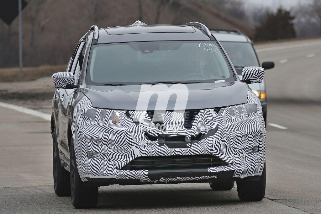 El Nissan X-Trail 2017 empieza su facelift en Estados Unidos