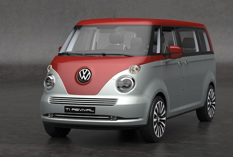 Volkswagen T1 Revival Concept, una espectacular propuesta para la T1 moderna