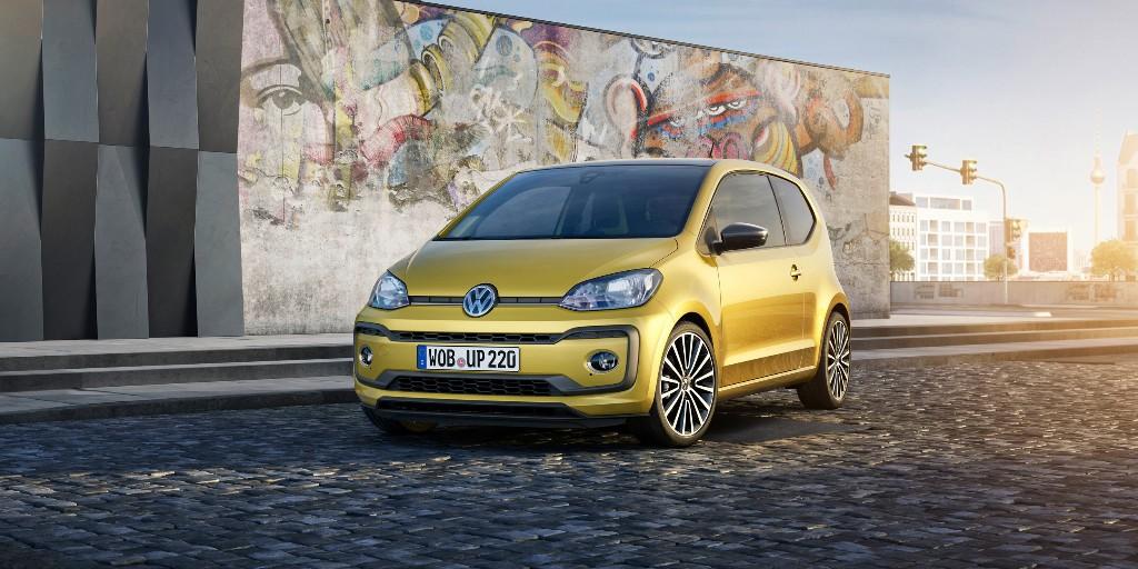 Volkswagen up! 2016, diseño actualizado con nuevo motor turbo y 90 CV