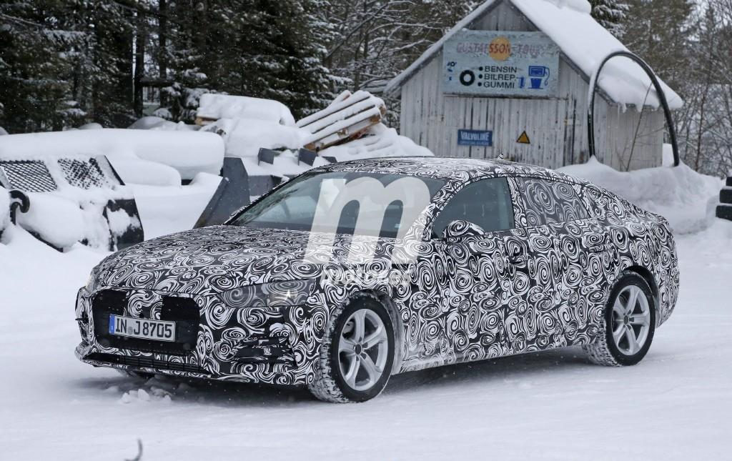 Audi A5 Sportback 2017, primeras imágenes del coupé de cinco puertas