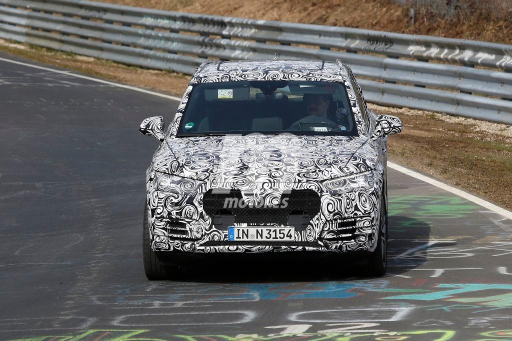 Audi Q5 2017, de pruebas en Nürburgring