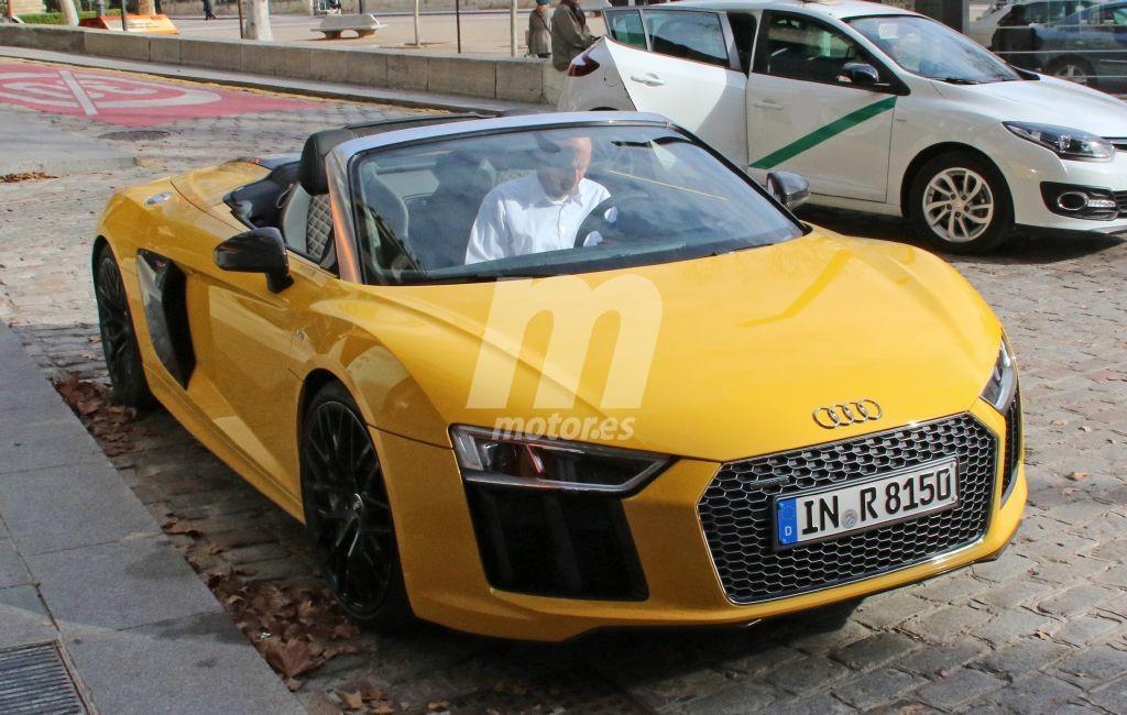 El nuevo Audi R8 Spyder 2017 cazado sin camuflaje en Andalucía