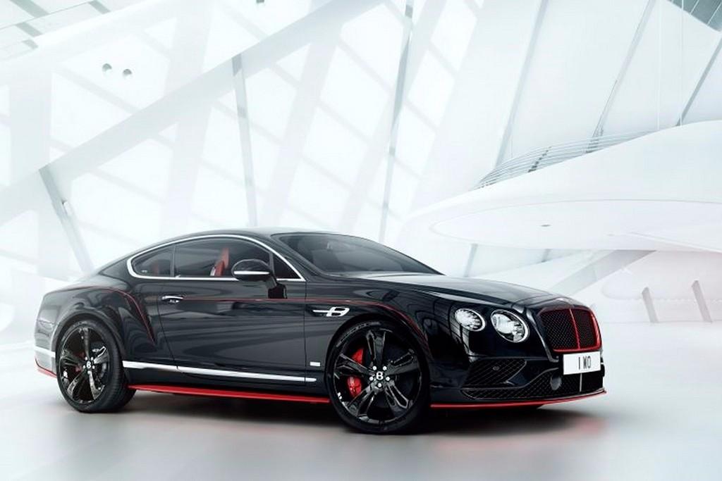 Bentley Continental GT Black Speed, negro y rojo son sinónimo de deportividad