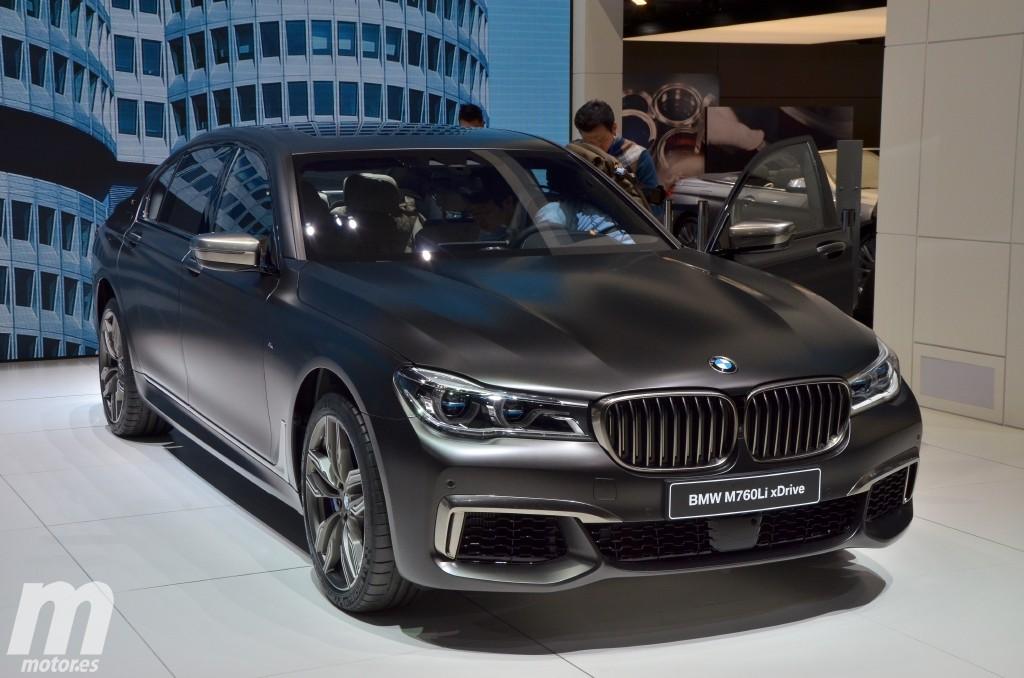 BMW M760Li xDrive, el nuevo tope de gama del Serie 7