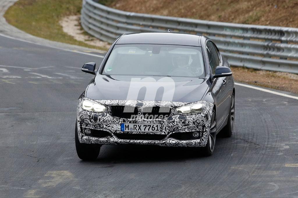 El BMW Serie 3 GT 2016 se deja ver, de nuevo