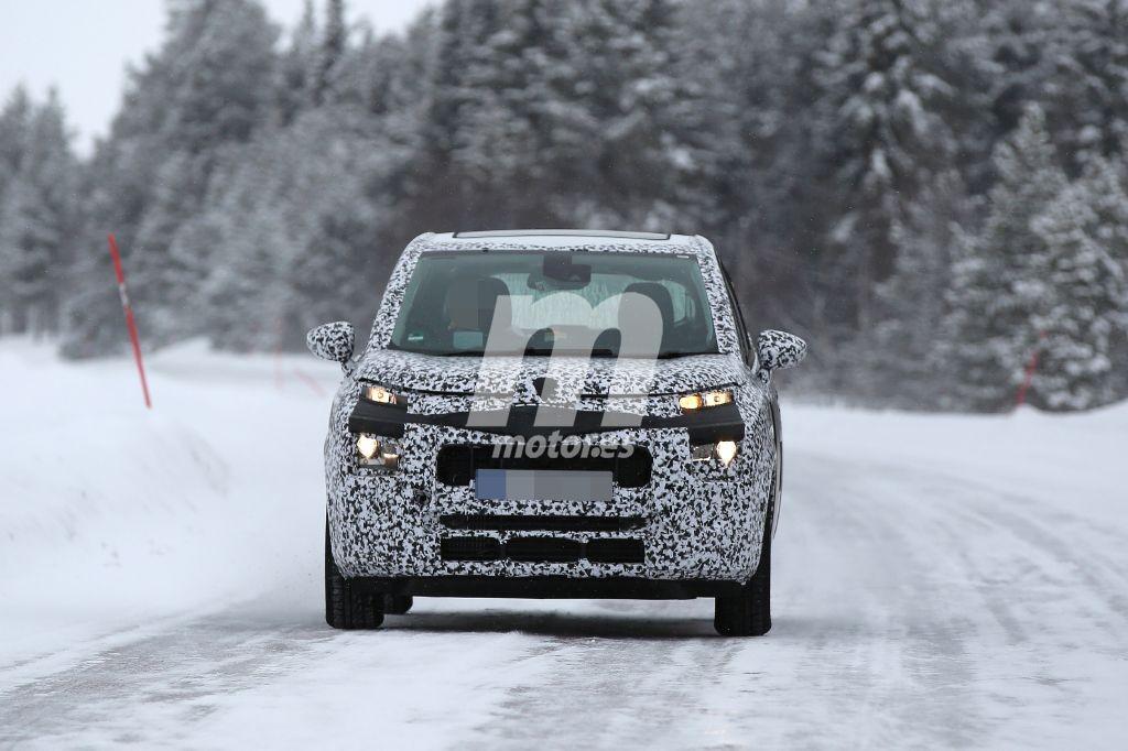 El Citroën C3 Picasso 2017 se pasea en nuevas fotos espía