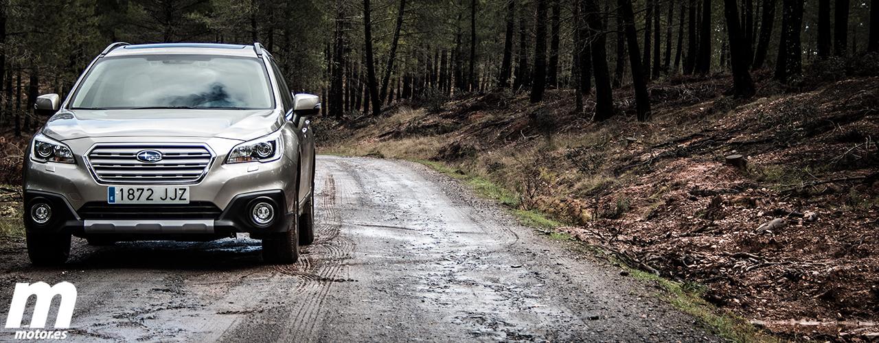 Prueba Subaru Outback 2.0D Lineartronic, la polivalencia en estado puro