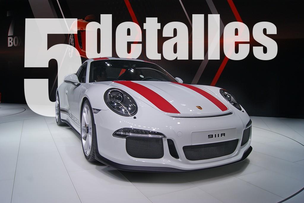Porsche 911 R, en cinco detalles