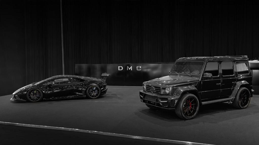 DMC conquista Ginebra vestido de negro