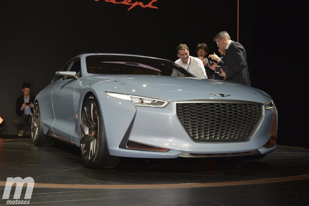 Genesis New York Concept, anticipando un rival del BMW Serie 3