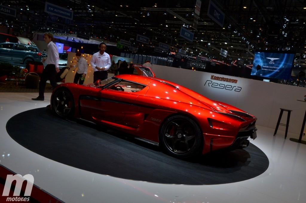 Koenigsegg Regera Production Specification, la bestia llega a Ginebra