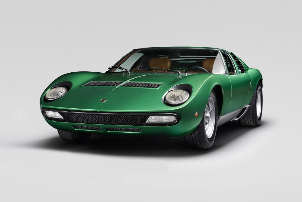 El primer Lamborghini Miura SV de 1971, restaurado por completo