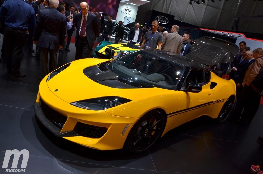 Lotus Evora Sport 410: más potencia y menos peso