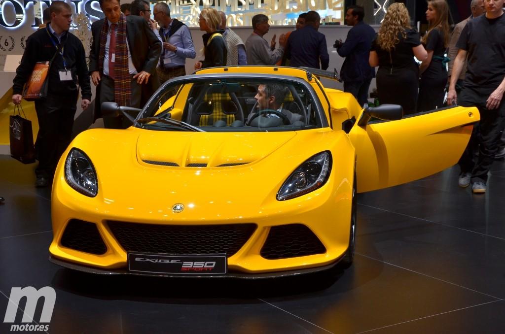 Lotus Exige Sport 350, más ligero y rápido