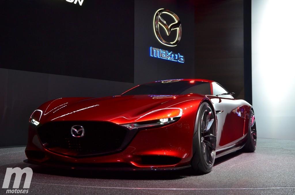 Mazda RX-VISION, la última esperanza para el motor rotativo