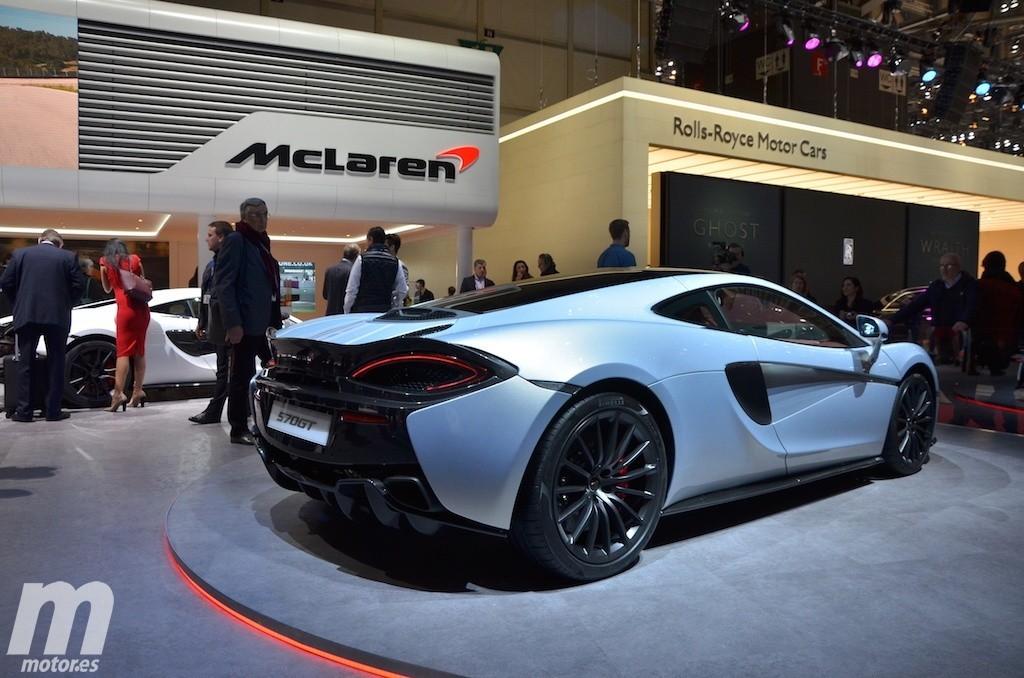 McLaren 570GT, así es como se añade otro maletero a un deportivo