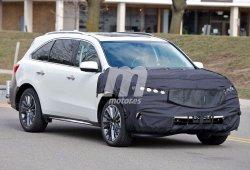 Acura MDX 2017, fotos espía del 'facelift' que estrenará este SUV americano