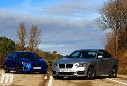BMW M235i xDrive vs Subaru WRX STi: En marcha y conclusiones (II)