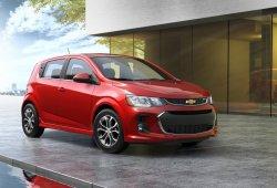 Chevrolet Sonic 2017: el Aveo norteamericano estrena 'restyling'