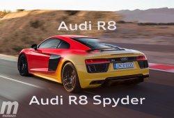 Diferencias entre el Audi R8 Coupé y Spyder: los ponemos cara a cara