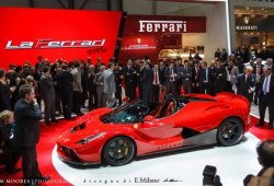 ¡El Ferrari LaFerrari Spider se ha filtrado!