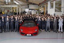 El Lamborghini Aventador supera las 5.000 unidades unidades producidas
