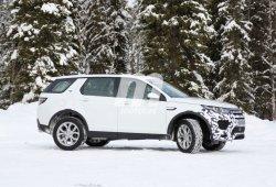 Cazado un Land Rover Discovery Sport 2017 con nuevo frontal