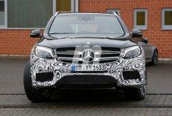 El nuevo Mercedes GLC 63 AMG casi al descubierto