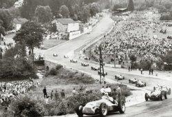 Nino Farina, primer campeón en su dominante Alfa Romeo