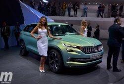 Škoda VisionS, así es el prototipo SUV checo