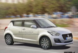 Suzuki Swift 2017: esta recreación anticipa su aspecto final