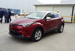Así es el Toyota C-HR de producción