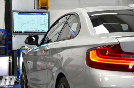 BMW M235i xDrive vs Subaru WRX STi: Prueba en banco de potencia (III)