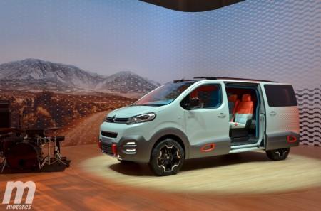 Citroën SpaceTourer Hyphen, una atrevida furgoneta-prototipo