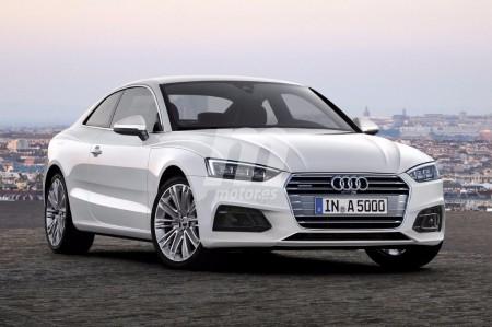 Así será el Audi A5 Coupé 2017