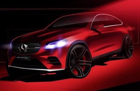 El Mercedes GLC Coupé se deja ver en su primer teaser oficial