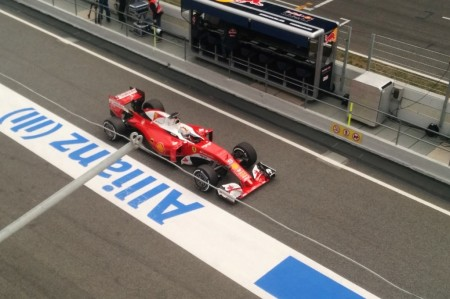 "Vettel no pronostica si alcanzan a Mercedes: ""Estamos un poco a ciegas"""