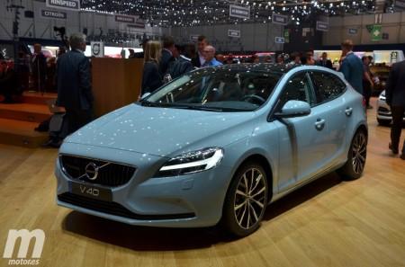 El nuevo Volvo V40 2017 incorpora el martillo de Thor