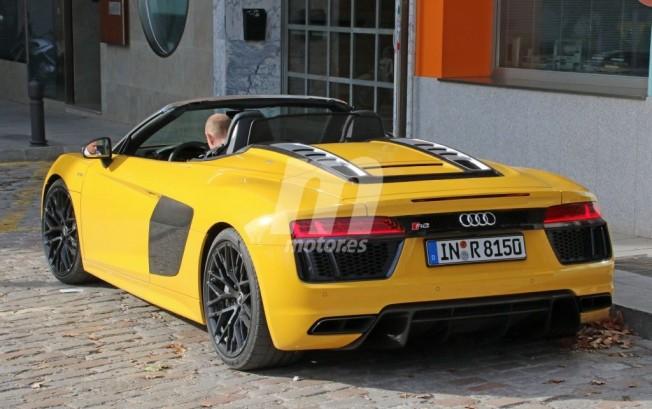 Audi R8 Spyder - foto espía