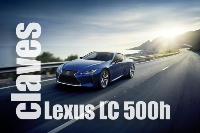 Las claves del Lexus LC 500h