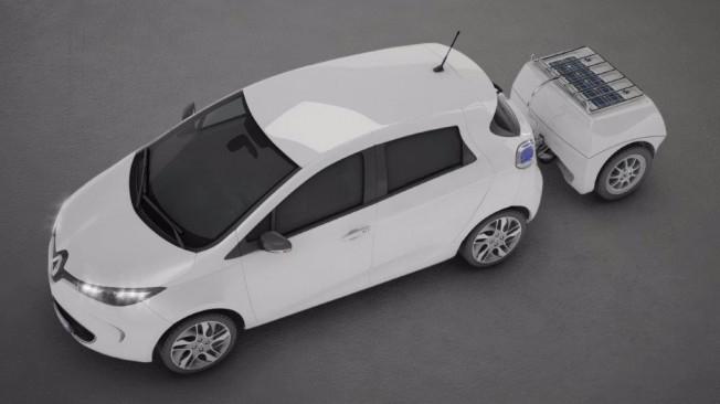 EP Tender - remolque extensor de autonomía en coches eléctricos