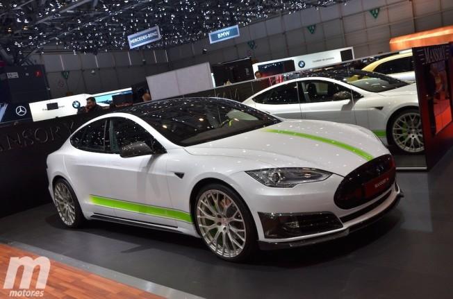 Tesla Model S preparado por Mansory