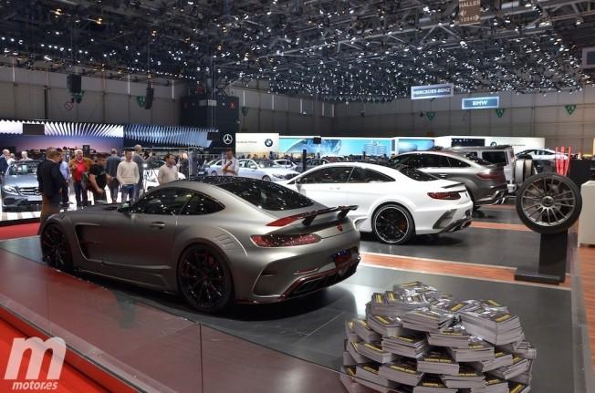 Mercedes-AMG GT S preparado por Mansory