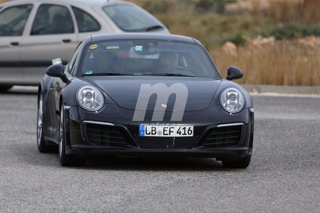 El futuro Porsche 911 coquetea con un sistema de propulsión híbrido