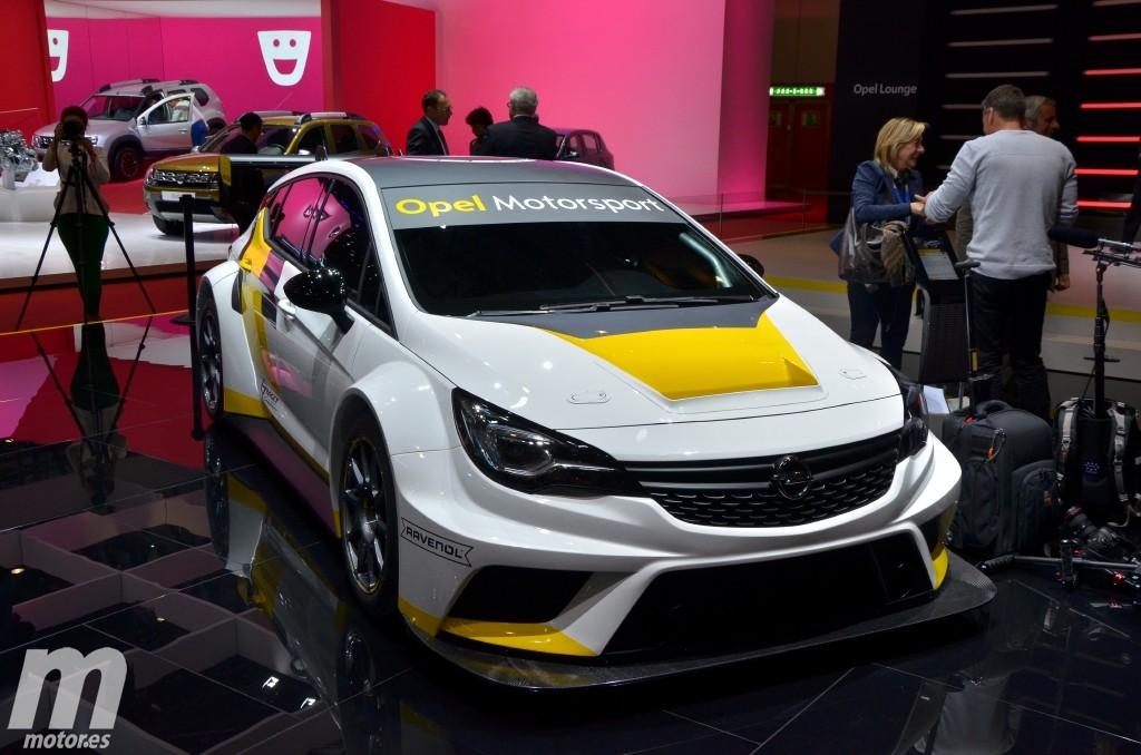 Opel Astra TCR, así es la nueva criatura de Opel Motorsport para turismos